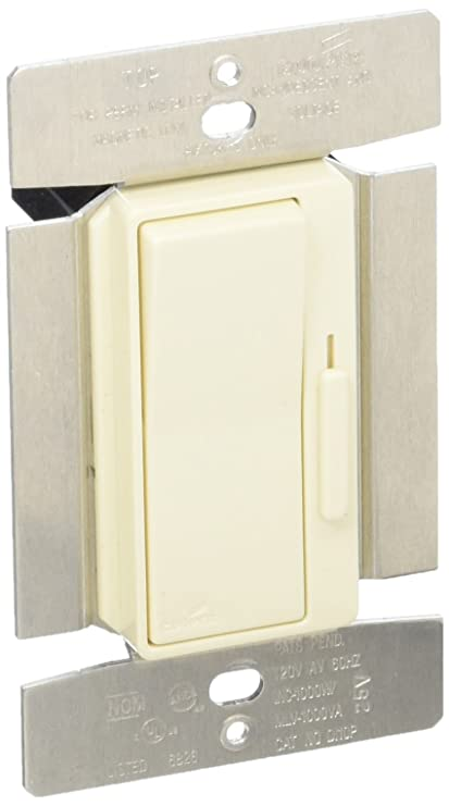 Eaton DI10PA Devine Slide Dimmer SinglePole 3Way Decorator Switch