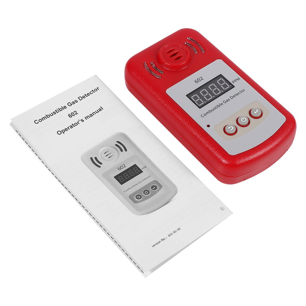 300-10000PPM Combustible Natural Gas Leak Detector with Sound Alarm & Light Flash