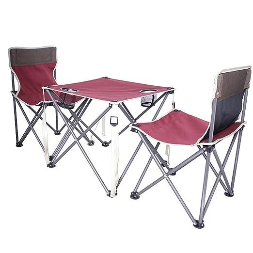 Yocobo-sport Mesa de Camping Plegables al Aire Libre Tres Piezas ...