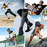 Compression Socks for Men & Women(2 Pairs), BULESK