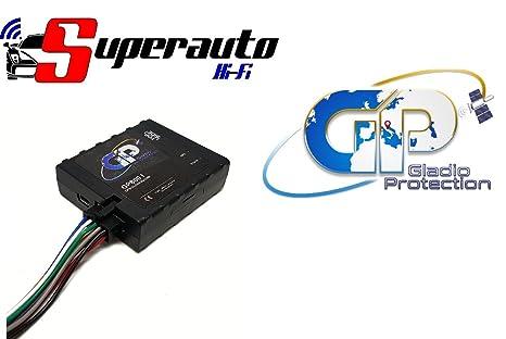 Localizador satélite combinador telefónico Antirrobo Coche Gladio Protection gp800i 800 I coche GPS GSM