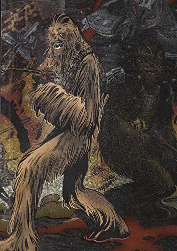 2005 Star Wars Revenge Of The Sith Etched Foil Puzzle 4 Chewbacca Tarfful Nm Mt On Galleon Philippines