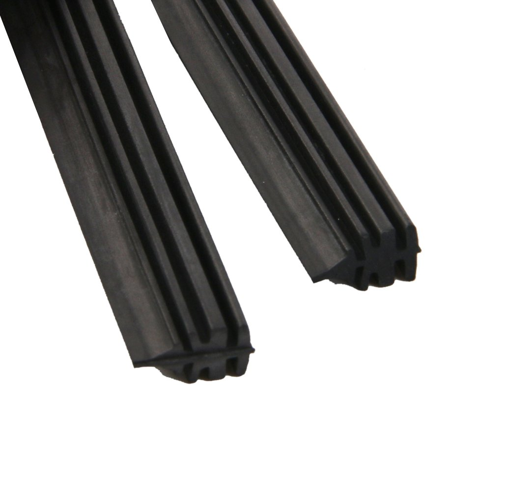 Rear window wiper blade rubber