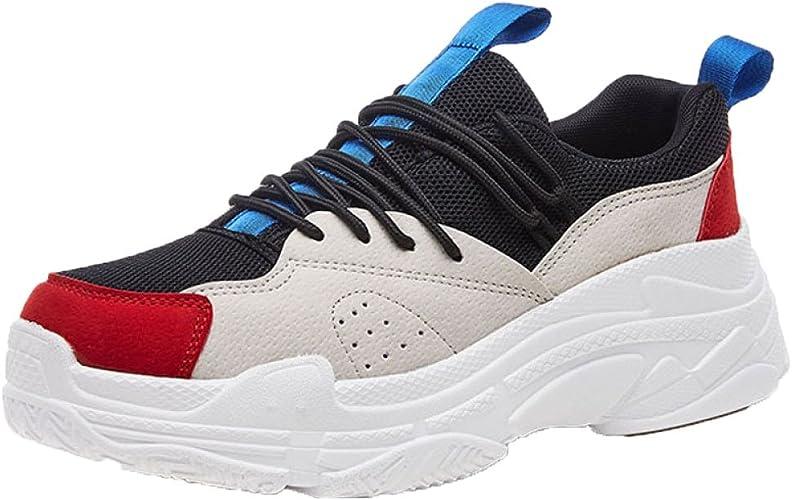 Señoras Zapatos De Senderismo Chicas A Prueba De Agua Zapatos Zapatillas De Malla Zapatos De Suela Gruesa Zapatos Corrientes Respirables: Amazon.es: Zapatos y complementos