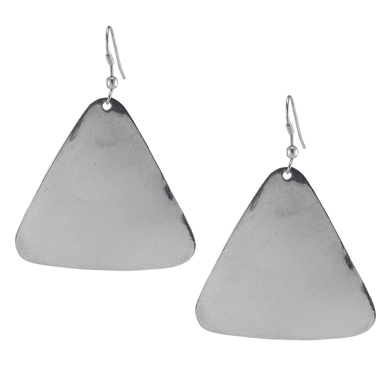 Silvestoo Jaipur 925 Silver Plated Dangle Fish Hook Earring For Women /& Girls PG-126507