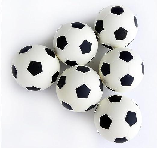 leisialtm 6pcs Juguetes para niños pelota rebote sólido bola ...