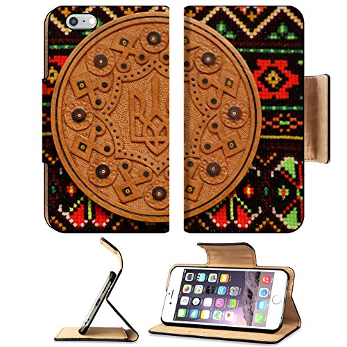[Liili Premium Apple iPhone 6 Plus iPhone 6S Plus Flip Pu Leather Wallet Case The Ukrainian ornament and embroidery a part of the Ukrainian culture is a lot of centuries] (Costumes Of Ukraine)
