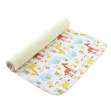 New Soft Cotton Deluxe Home Travel Waterproof Change Mats Baby Changing Mat