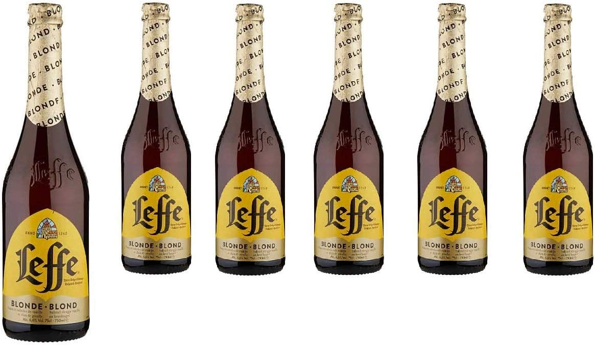 LEFFE BLONDE [ 6 BOTELLAS DE 750 ML ]