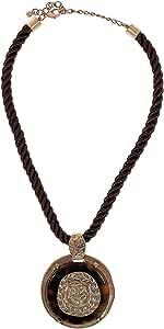 Loco Foco Women's Leather Pendant Necklace