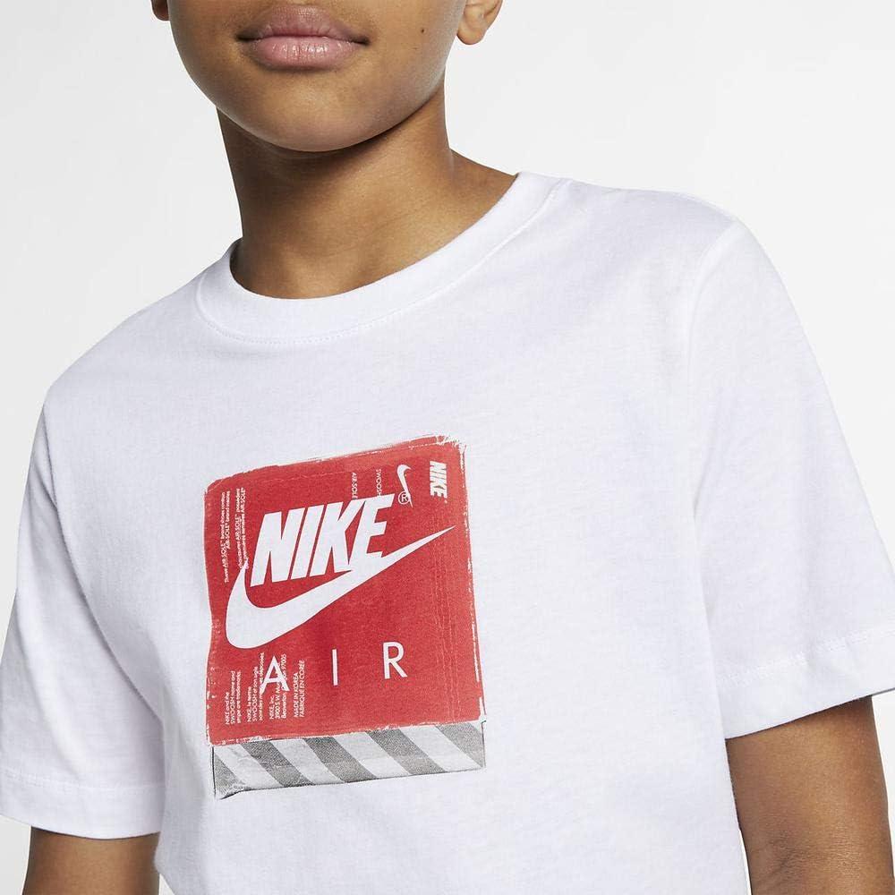 Nike Unisex Kids B NSW Tee Air Shoe Box T-Shirt
