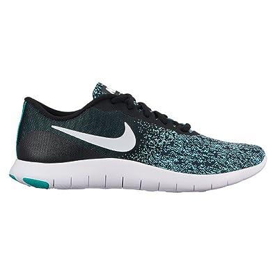 Nike Women's Flex Contact Running Shoes (6 B(M) US, Black/