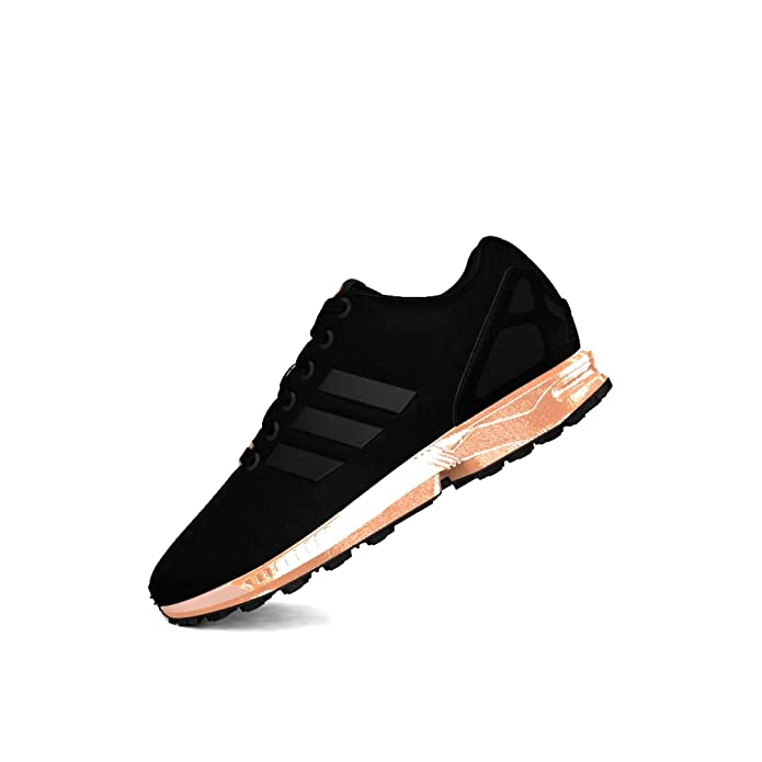 sports shoes ffc9a aa25a Amazon.com   adidas ZX Fkux W Black S78977   Athletic