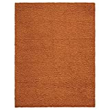 Ottomanson Soft Cozy Color Solid Shag Area Rug