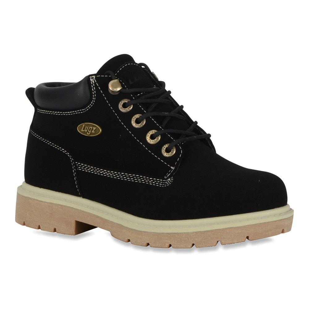 Lugz Women's Drifter Lx Chukka Boot B015AIAYH0 5.5 B(M) US|Black/Cream/Gum Durabrush