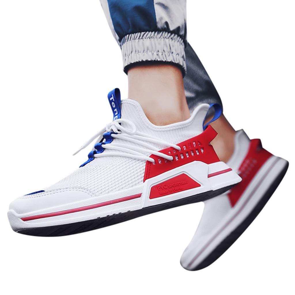 Casual Men Outdoor Shoes Fashion Sneakers Solid Summer Mesh Running Athletic Day Ultra Lightweight Perforated Slip on Offroad Sport Sneaker f/üR Damen /& Herren KERULA Sneakers