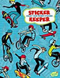 Peaceable Kingdom Boards and Bikes Big Sticker Keeper Book