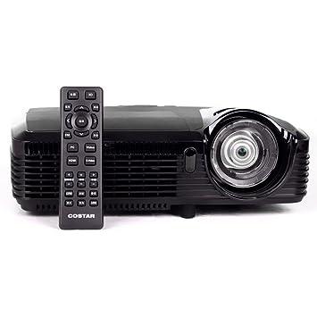 1080P 3d DLP proyector Ultra corto alcance Distancia focal corta ...