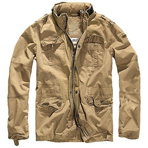 Brandit Britannia Jacket 3116, Size:XL, Color Camel by Brandit