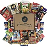 Healthy Snacks Care Package - (35 count) Premium Sampler Gift Box of Protein Bars, Fruit Snacks,...