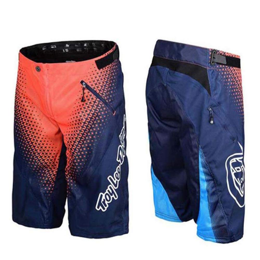 AIYL Uomo Outdoor Sport Leisure Capri Pantaloncini Arrampicata MTB Bici Pantaloni Grey-S