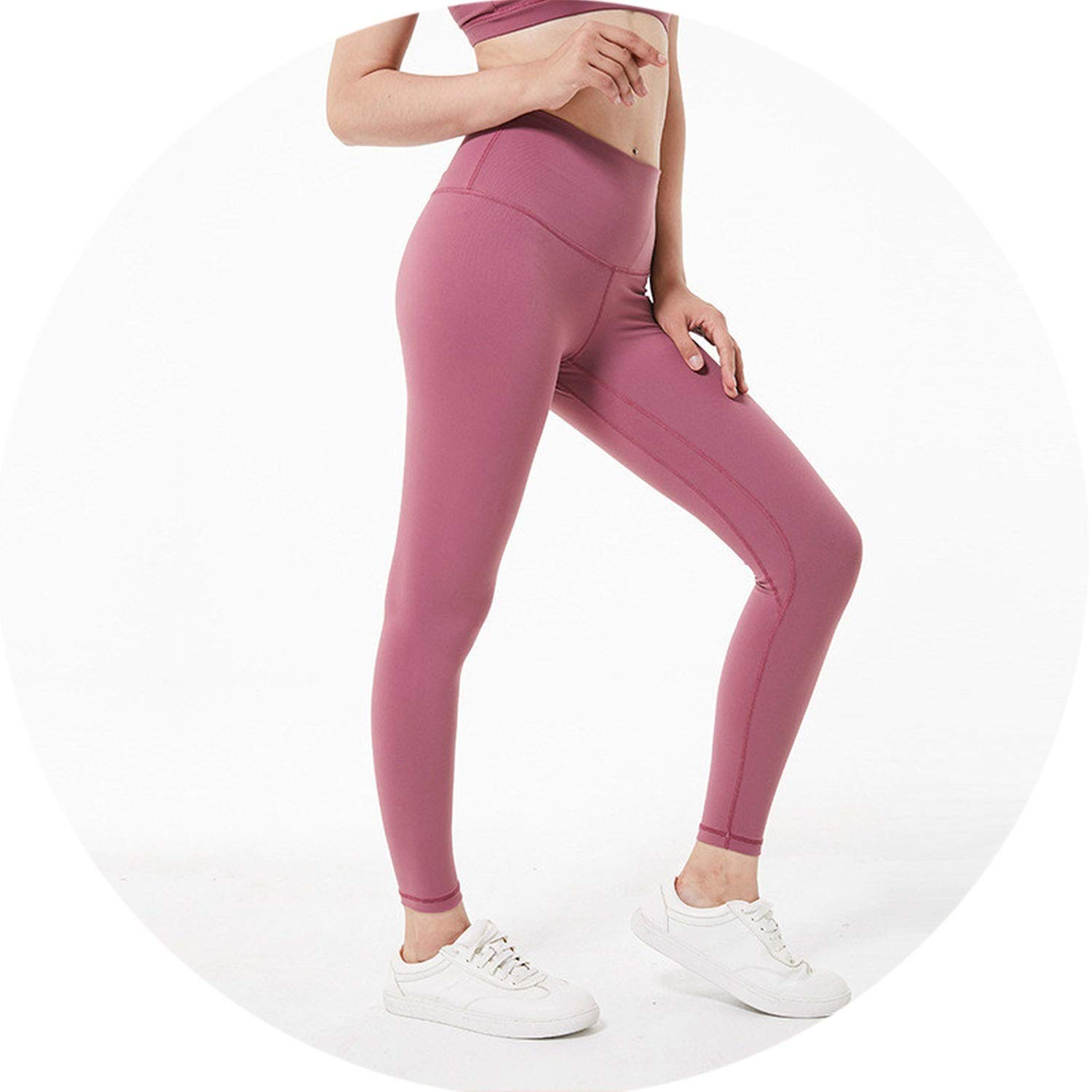 Merlot Red Small Meet fashion Hip Up Yoga Fitness Pants Women Sport Tights AntiSweat High Waist Gym Athletic Leggings