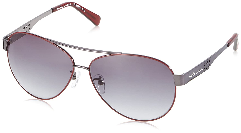 Carlo Monti Herren SCM200-171 Aviator Sonnenbrille