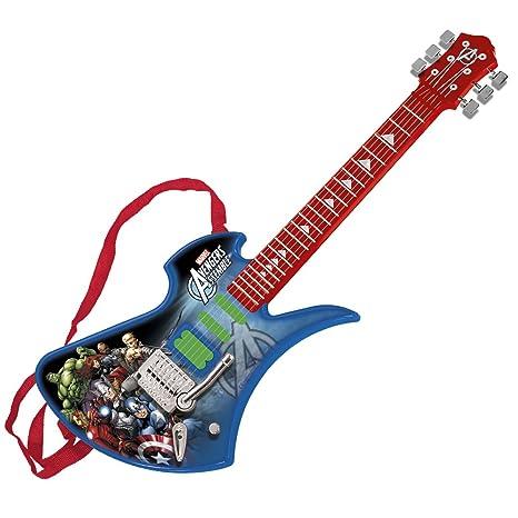 Amazon.com: Reig Avengers Assemble 6-String Electric Guitar: Toys & Games