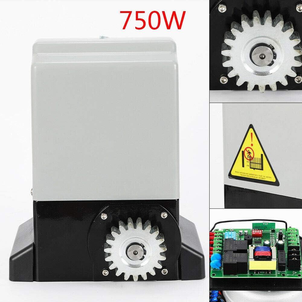 IP44 Control de apertura automática de la puerta corrediza 2000 KG 1200 KG Cargador automático del motor/carril de 6 m [Carga: 2000 KG / 750 W]: Amazon.es: Bricolaje y herramientas