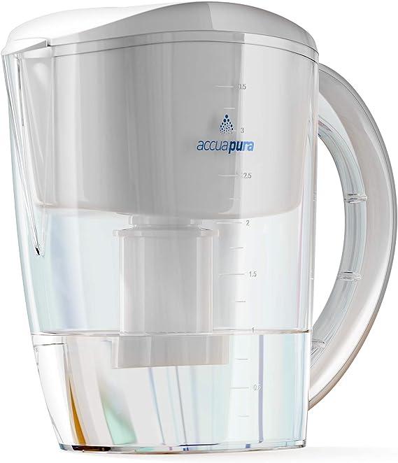 Premium calidad jarra de agua alcalina ionizador, 3,5 litros ...