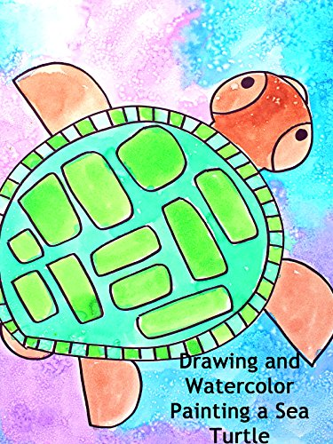 (Drawing and Watercolor Painting a Sea Turtle)