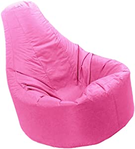 Extra Large Recliner Beanbag Chair Gaming Bean Bag Game Seat Bags Cover Only - Pink