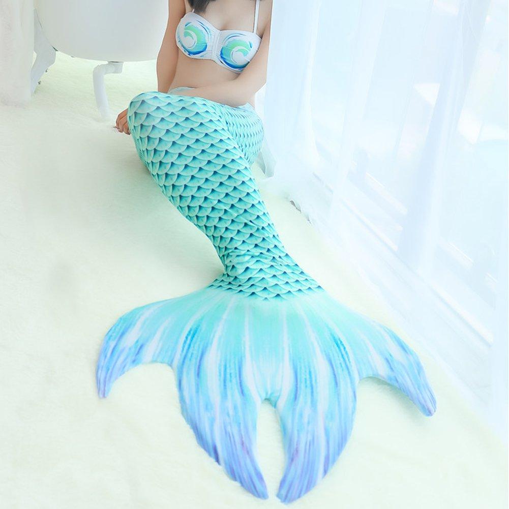 Flyhigh M/ädchen Meerjungfrauen Schwimmanzug Badeanz/üge