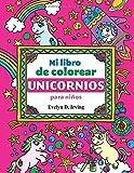 Unicornio Libro para colorear para niños y adultos + BONO