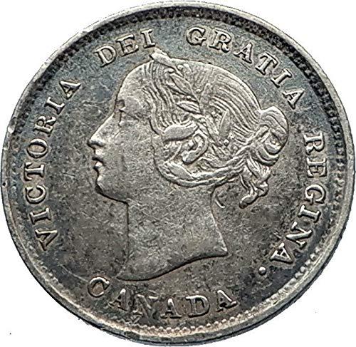 1891 CA 1891 CANADA UK Queen VICTORIA Authentic Antique A