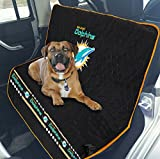Pets First NFL CAR SEAT Cover – Miami Dolphins Waterproof, Non-Slip Best Football Licensed PET SEAT Cover Dogs & Cats.