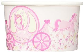 Ginger Ray Prinzessin Pony Party Boxen Pink Süßigkeiten Tassen Rose