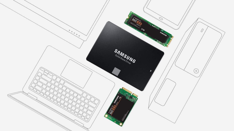 Samsung 860 EVO Unidad de Estado sólido 2.5