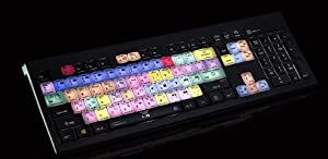 Logickeyboard keyboard designed for Adobe Premiere Pro CC compatible with Windows 7-10 - LKBU-PPROCC-APBH