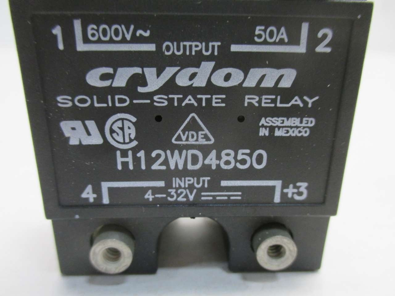 Crydom H12wd4850 Solid State Relay Panel Mount 50amp Wow Amazon Industrial Scientific