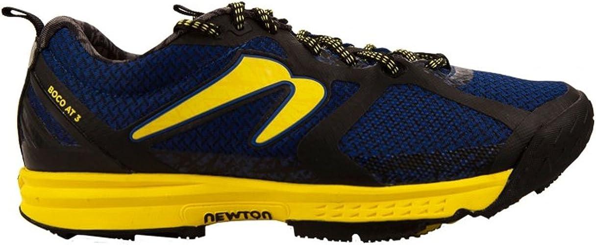 Newton Running Mens Boco At III Trail Running Shoe, Zapatillas Asfalto para Hombre, Azul (Blue/Maize), 43 EU: Amazon.es: Zapatos y complementos