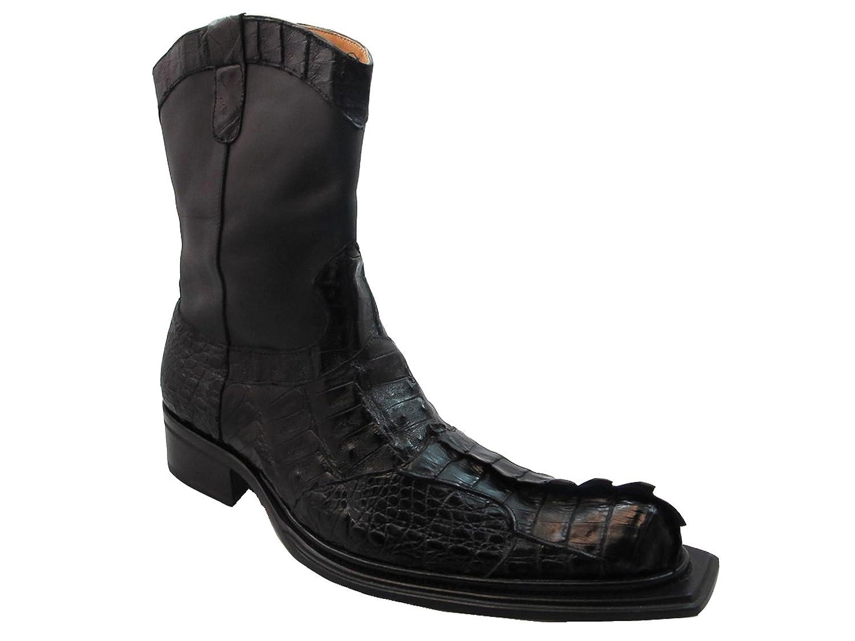 Men's Crocodile Hornback 42730 Mauri Boots Black