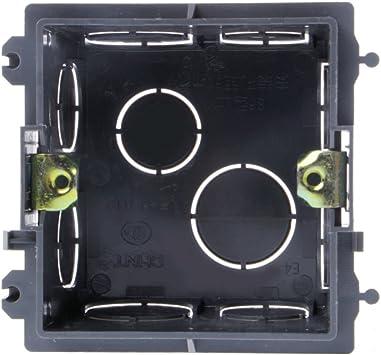 Caja de derivación de PVC de 86 tipos para montaje en pared para base de enchufe de interruptor: Amazon.es: Bricolaje y herramientas