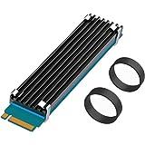 GLOTRENDS NVMeヒートシンク M.2ヒートシンクSSD シリコンサーマルパッド ( 22x110) M.2 SSD 用ヒートシンク