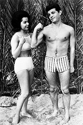 Beach Blanket Bingo Annette Funicello Frankie Avalon Bikini 24x18 Poster by Generic
