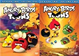 Cartoon Bundle: Angry Birds Toon Season 2 DVD Bundle - Angry Birds TOONS (Season 2 Vol 1) & Angry Birds Toons (Season 2 Vol 2)