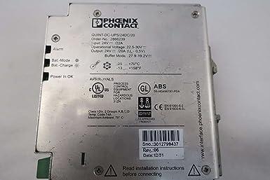 .pp6941 Onduleur Phoenix Contact Quint DC-ups Quint-ups//24dc//24dc//20 24 V DC 20 A