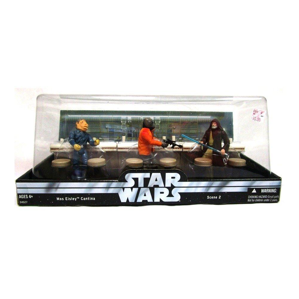 Star Wars Original Trilogy K-Mart Exclusive Mos Eisley Cantina 3-Pack Series 2 Hasbro 1003060
