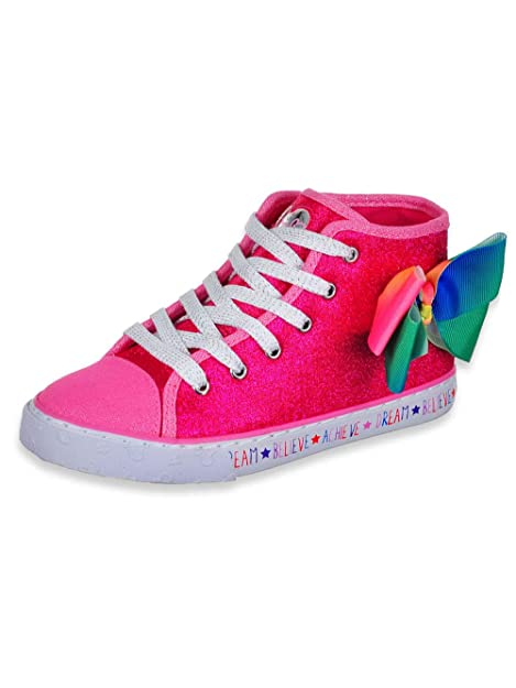 Amazon.com: JoJo Siwa - Zapatillas para niñas, color rosa y ...