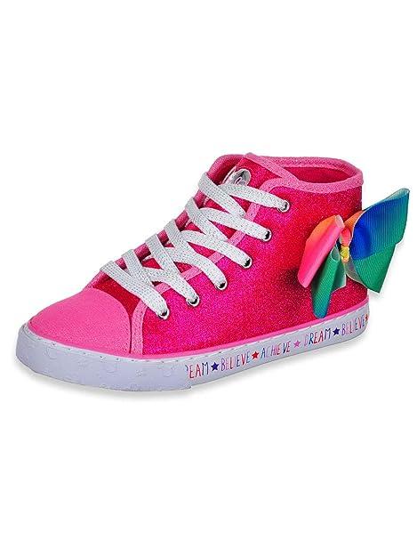Amazon.com: JoJo Siwa - Zapatillas para niñas, color rosa y ...